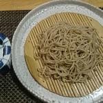 蕎麦瑠 呑楽人 - 手打ち蕎麦(750円)♪
