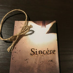 sincere -