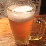 53166339 - サッポロ黒ラベル生ビール 480円(税込)