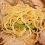 頓珍館 - 2016.7 細めの縮れ麺