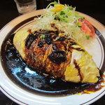 キッチンABC - オムカレー750円