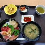 水産食堂 - 海鮮丼セット