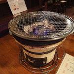 焼肉 牛萬 - 七輪炭火焼