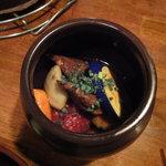 焼肉 牛萬 - 壷焼きカルビ