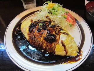 キッチンABC 西池袋店 - オムカレー750円