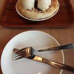 Makkusuburenachokoretoba - とりわけのお皿との大きさ比