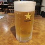 いせや - 生ビール(中)