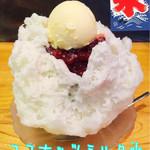 甘味処 あかちゃ家 - ココナッツミルク氷