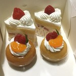 トリアノン - デラックスショート¥465 / サバラン¥380( '16.07)