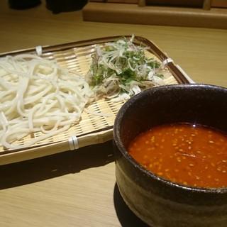 【〆の新定番】えび味噌つけ麺