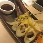 全席完全個室 九州素材 郷土料理 和食  八州 - 鹿児島コサン竹の筍