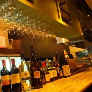 お勧めの《ワイン×日本酒》を気軽に♪