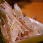 秀よし鮨 - ツマはミョウガと大根