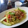 カフェ・ボーナ - 料理写真:パスタビアンコ¥850税込み(ランチ、サラダ、ドリンク付き)
