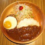 びっくりドンキー - エッグカリーバーグデッシュ(905円)