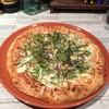 明太子のピザ
