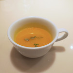 カフェウィーン - ランチのパンプキン・スープ