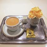 カフェウィーン - でも東京と同じコーヒーセット