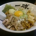 一球 - 料理写真:油そば(小)690円