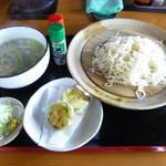 53186597 - ネギ塩つけ麺(我儘メニュー)