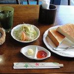 洋食や とんちんかん - トーストセット(モーニング)