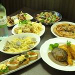 ドウジマカフェ - ガッツリコース!2800円