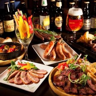 【当店自慢】3時間飲み放題+肉バルコース3500円~♪