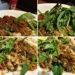 梵平 - myハバチビットin パクチー増しもよさげ 1皿で何度も美味しいしっかりボリューミーカレー