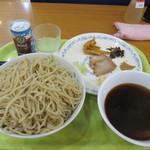 北京餃子 - つけ麺:メガ盛り1kg
