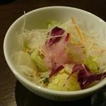 椿屋珈琲 - ランチのサラダ