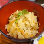 おそば処 葵 - 炊き込みご飯