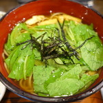 おそば処 葵 - 京みぶ菜そば
