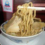 明神 角ふじ - 麺