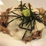 Dai - 牛肉のしぐれ煮。950円。 正統派なお味。美味。