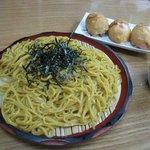 力餅食堂 - カレー麺ざる 2008/5