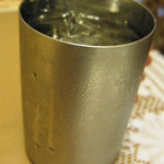 プリンス インドレストラン - ステンレス製のコップ