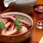 わたら瀬 - 小ヤリイカと里芋の田舎煮