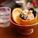 わたら瀬 - 白子の柚子盛り