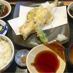 53200074 - 穴子天ぷら定食 1,200円