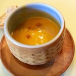 食房エスト - カボチャのスープ
