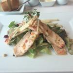 53201652 - チキンのサラダ。ドレッシングが美味しかった