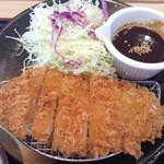 松のや 堀田店 - 味噌ロースカツ