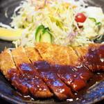 三ツ川 - トンカツ定食