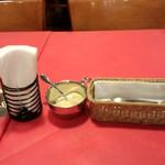 マキアヴェリの食卓 - テーブルセット