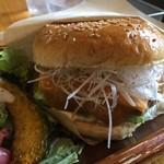 サンバーガー - 白味噌チーズバーガー