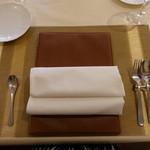 ジューダバレリーノ - テーブルセット
