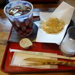なつめ - わらび餅セット