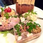 大衆食堂 瓦町ブラン - 前菜3種盛り