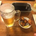 立呑み 龍馬 - ひとくち唐揚げ