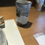 小来川 山帰来 - 割り用蕎麦湯